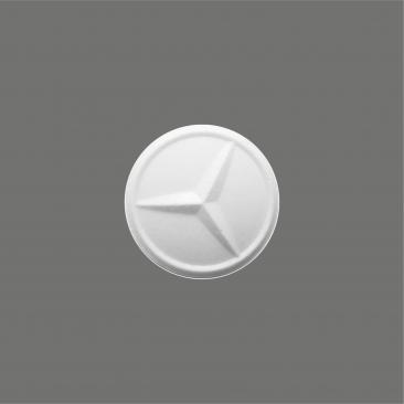 logo shaped mints mercedes